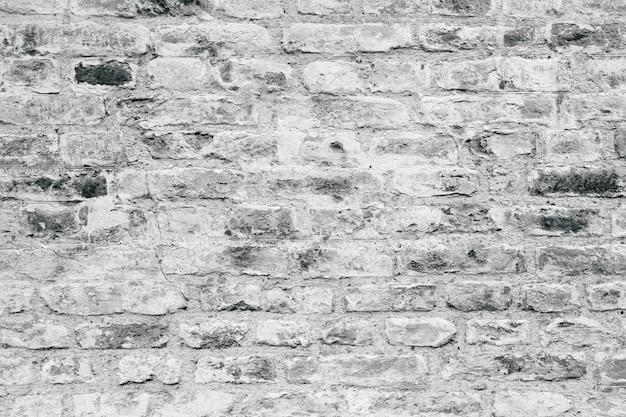 Grey brick wall texture as a background Premium Photo