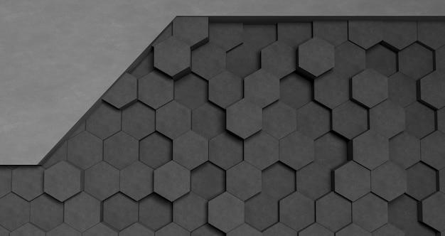 灰色の幾何学的形状の壁紙 無料写真