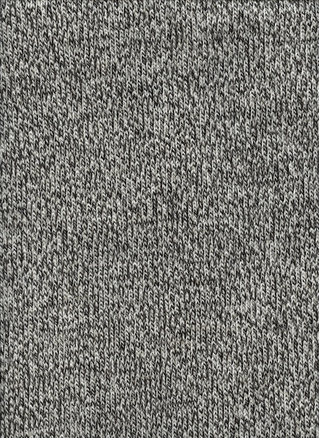 Grey mottled wool texture background. close up fabric wallpaper Premium Photo