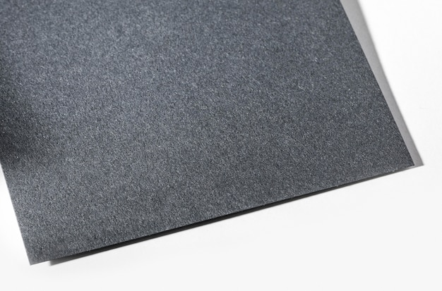 회색 질감 된 종이 근접 평면도 무료 사진