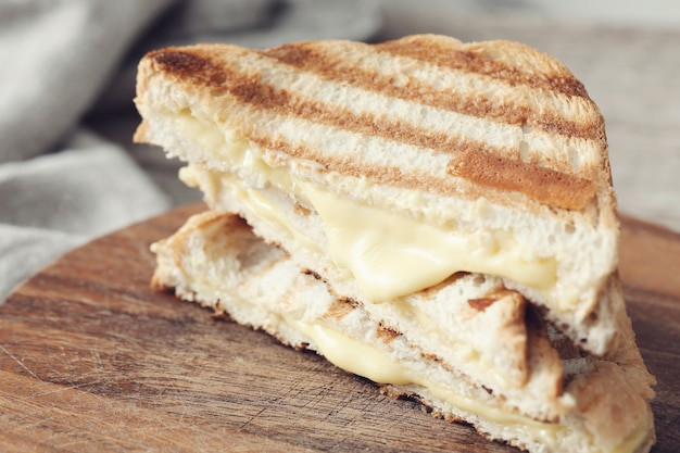 Grilled cheese sandwich Free Photo