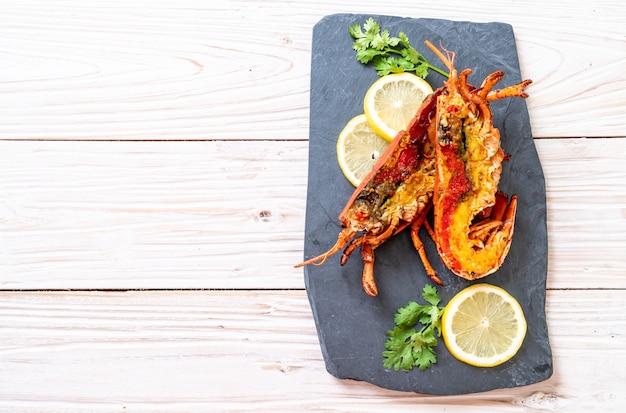 Grilled lobster steak Premium Photo