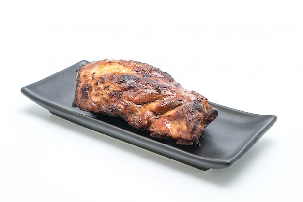 Grilled pork ribs Premium Photo
