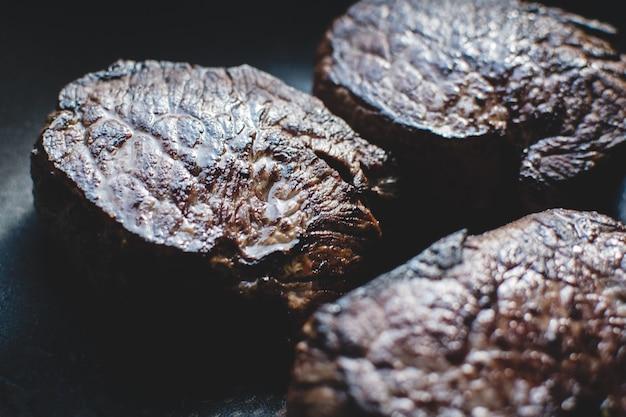 Grilled tenderloin steak Free Photo