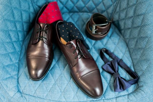 Groom wedding shoes Free Photo