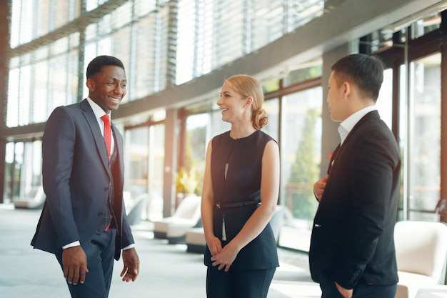 Group of business people Premium Photo