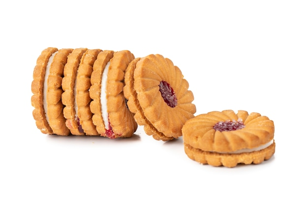 Group of cookies or biscuits Premium Photo
