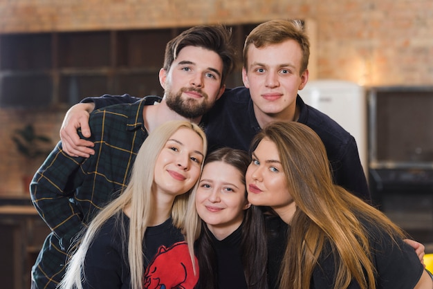 Group of friends at a party Free Photo