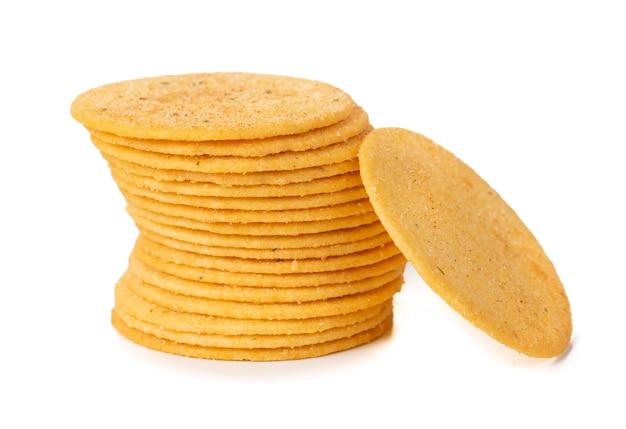 クッキーまたはビスケットのグループ Premium写真