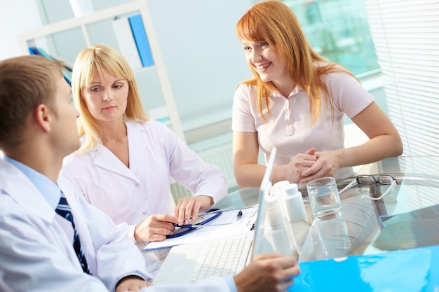 Group of doctors meeting at hospital office Photo | Free Download