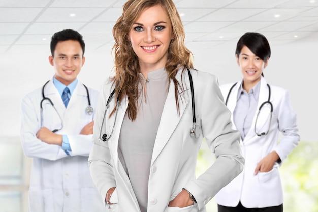 Группа медицинских работников Premium Фотографии
