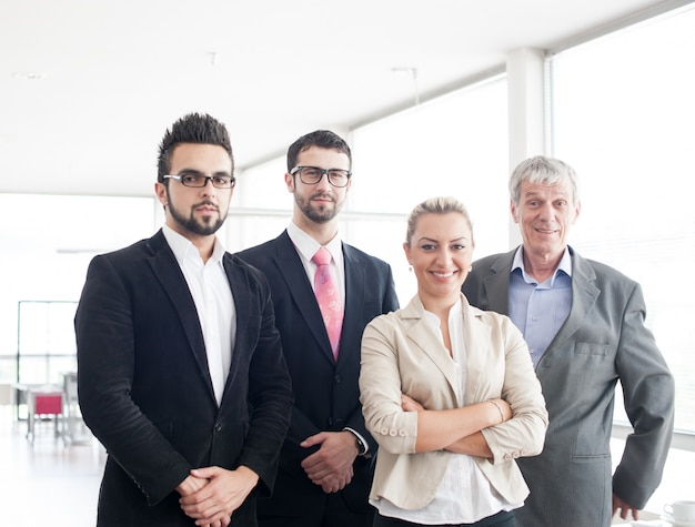 Group portrait of business people and executives Premium Photo