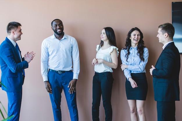 Group of stylish business people Free Photo