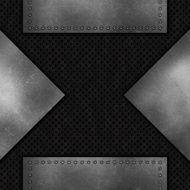 Grunge abstract metal background Free Photo