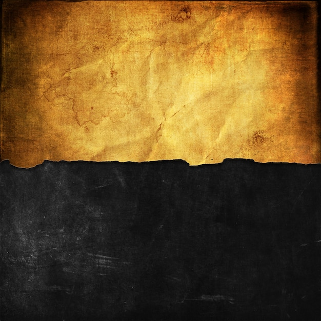Grunge background with old paper on blackboard texture Free Photo