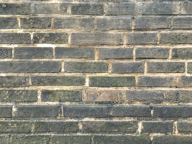Grunge gray brick wall background Premium Photo