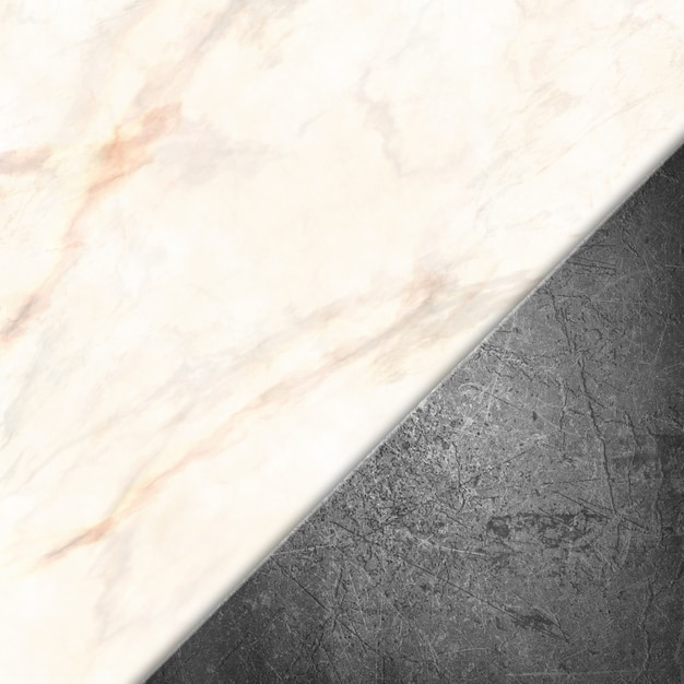 Grunge metal on a marble stone texture Free Photo