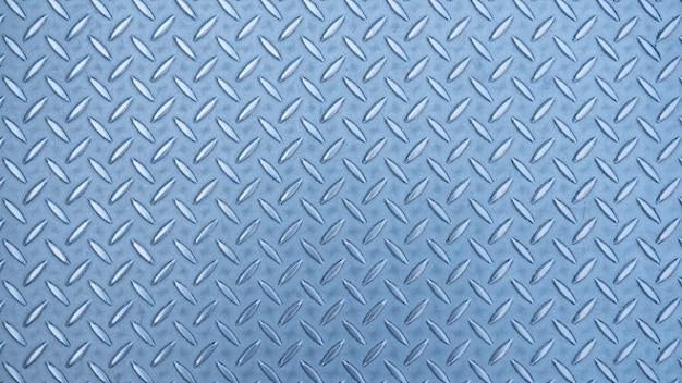 Grunge rust diamond plate metal texture background Premium Photo