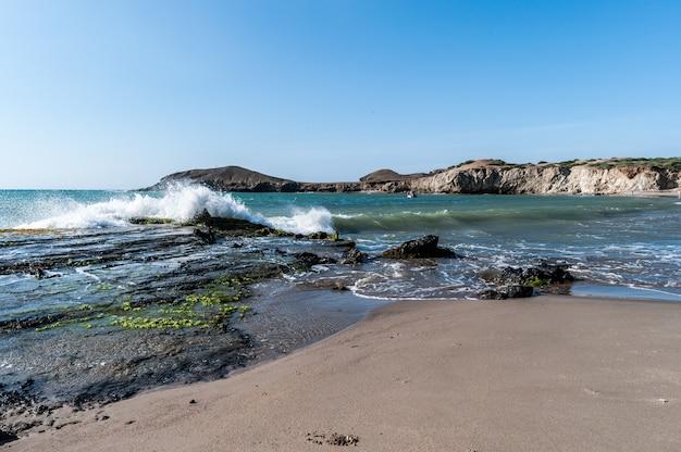 Guajira colombia shore desert beach Premium Photo