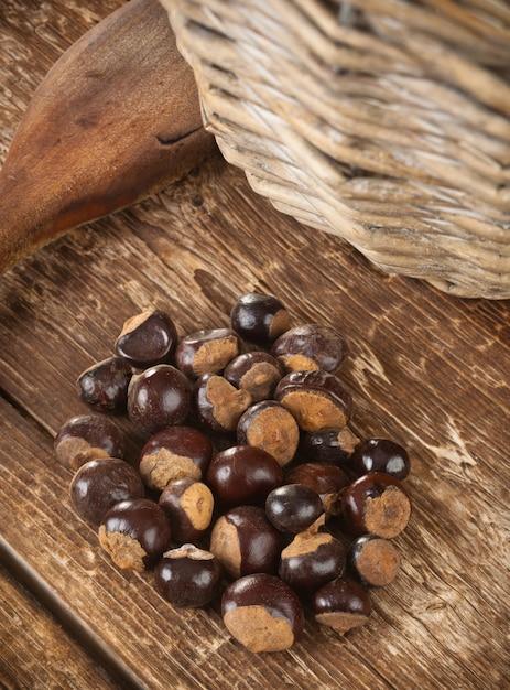 Guarana seeds Premium Photo