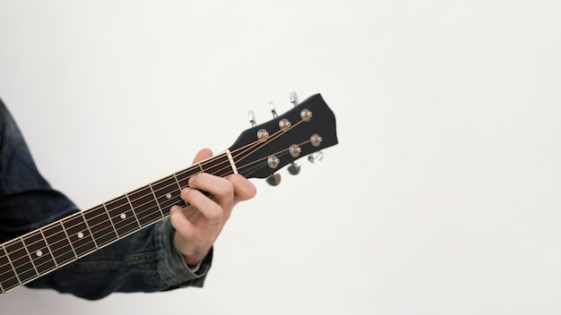Guitar music outdoors Free Photo