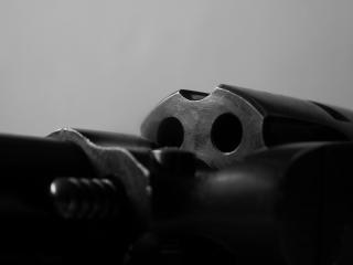 Gun closeup Free Photo