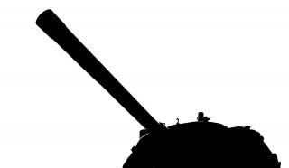 Gun and turret of a tank Free Photo