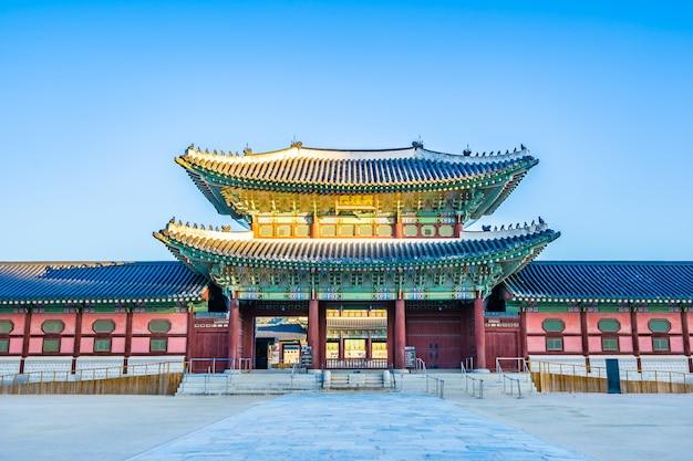 Palazzo gyeongbokgung Foto Gratuite