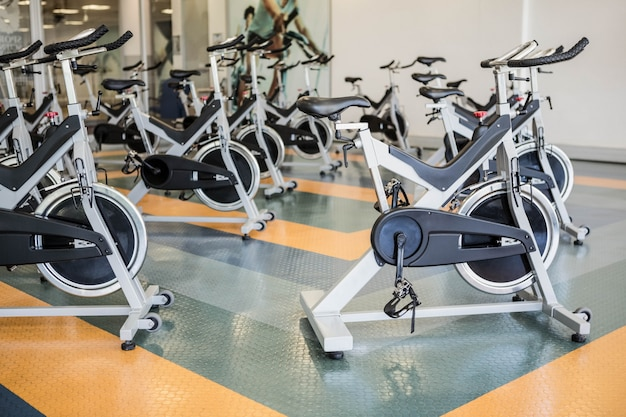 Gym with no people interior Premium Photo