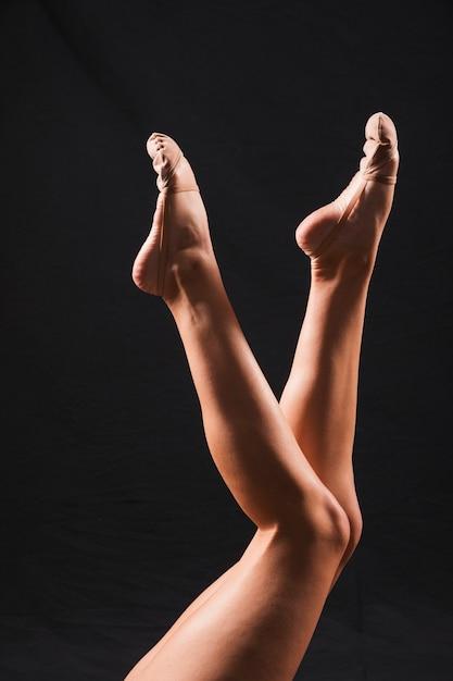 Gymnast feet Free Photo