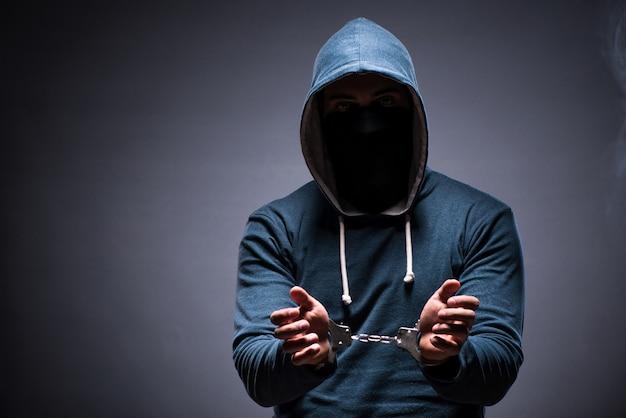 Hacker caught for this crimes Premium Photo