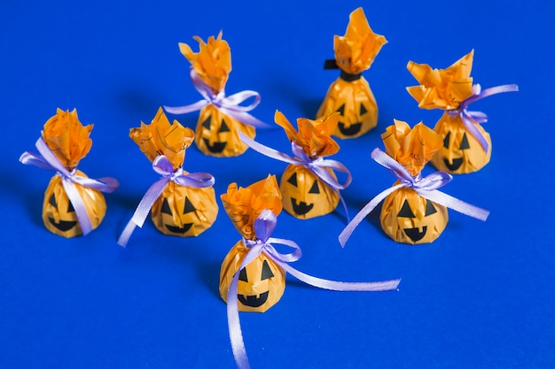 Halloween creative candies Free Photo