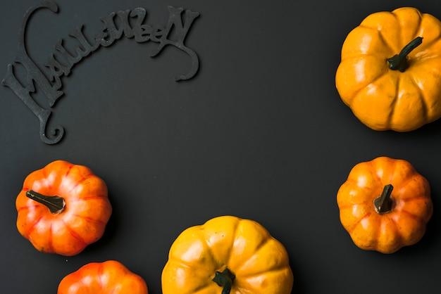 Halloween fresh pumpkins Free Photo