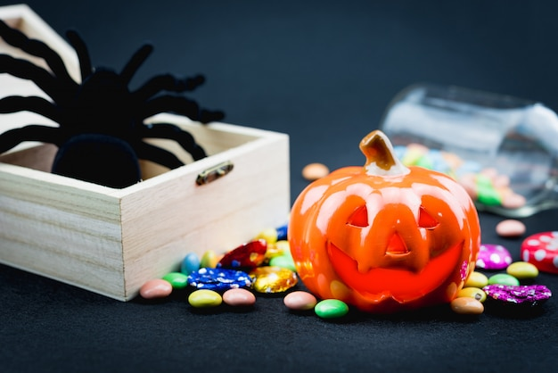 Halloween holiday elements Premium Photo