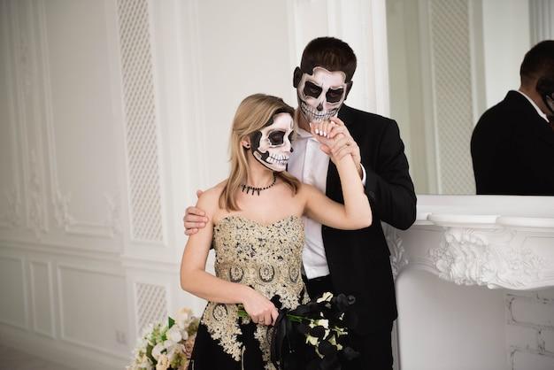 Хэллоуин зомби вечеринка и ужас Premium Фотографии