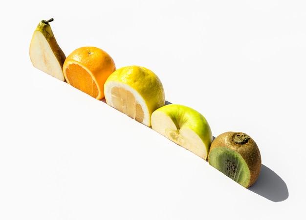 Halves of exotic fruit Free Photo