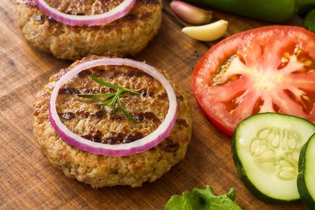Ингредиенты гамбургера Бесплатные Фотографии