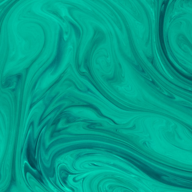 Hand drawn abstract swirl green background Free Photo