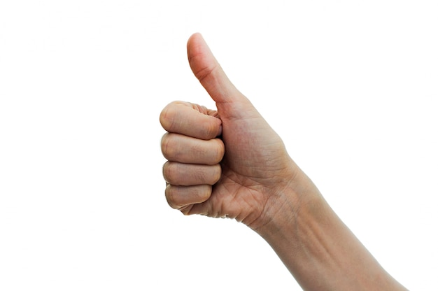 Thumbs up linear editing