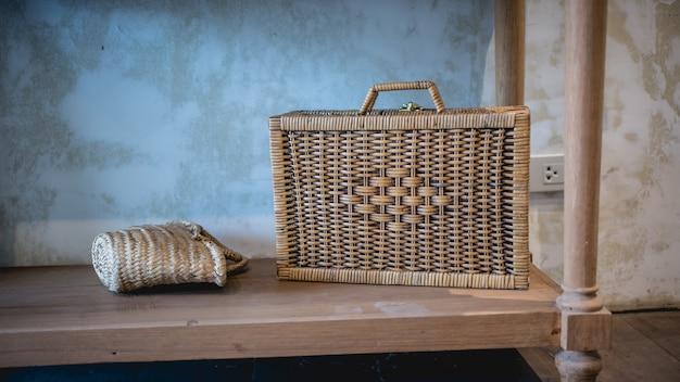 Handicraft woven bag collection