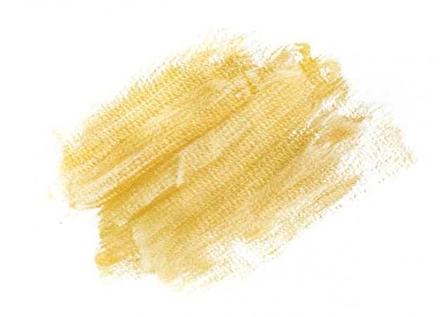 Handmade gold strokes background Premium Photo