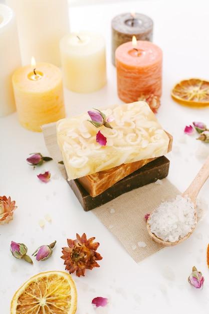 Handmade soap Free Photo