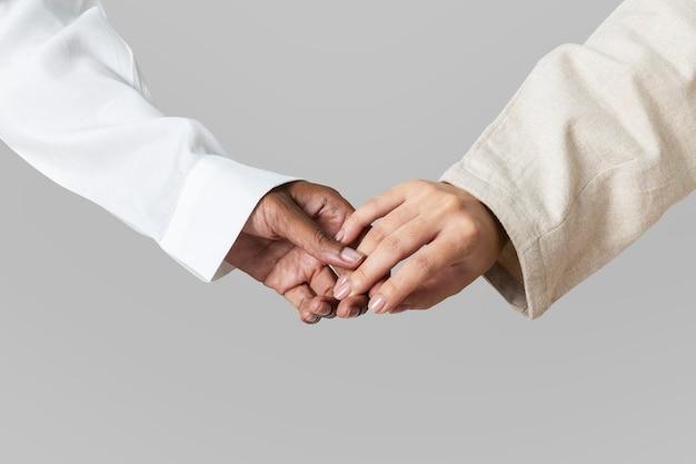 하나가되는 다양성의 손 무료 사진