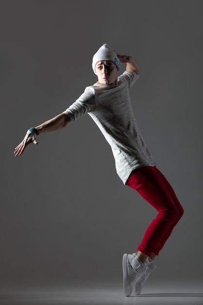 Handsome dancer guy Free Photo