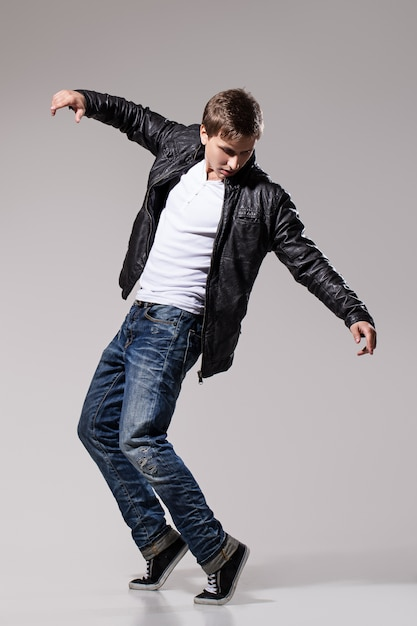 Handsome man dancing Free Photo