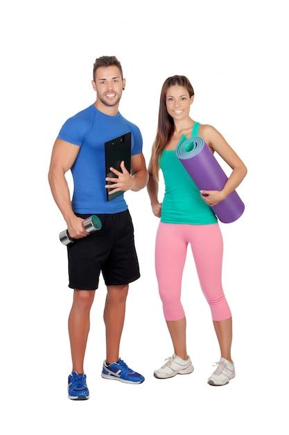 Attractive trainer