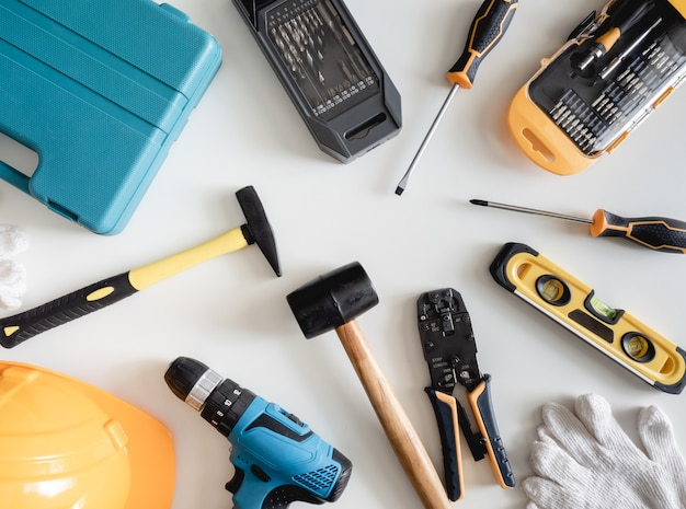 Handyman tools Premium Photo