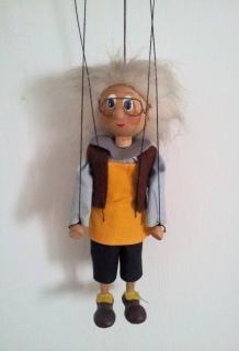 Hanging puppet Free Photo