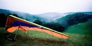 Hangliding дельта Бесплатные Фотографии