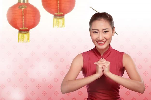 Happy chinese new year concept Premium Photo